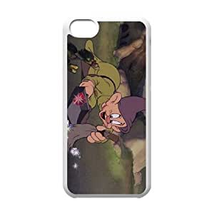 Disney Snow White And The Seven Dwarfs Character Dopey Iphone 5C Cell Phone Case White WON6189218001581