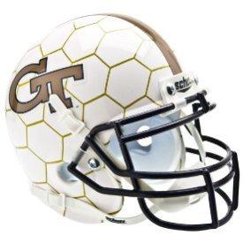 Georgia Tech Yellow Jackets 2012-2015 Honey Comb - NCAA MINI Helmet