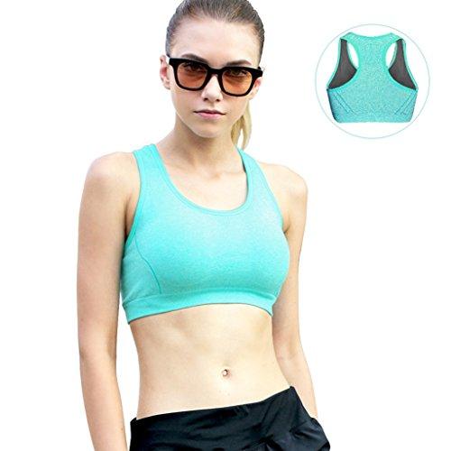Sports Underwear Shockproof Correr Fitness Vest Mujer Reúna Juntos Sección Yoga Yoga No Trace No Rims Bra ( Color : #7 , Tamaño : 85C )