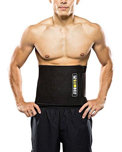 Slimbelt waist trimmer belt,sweat belt; burn your fat bel...