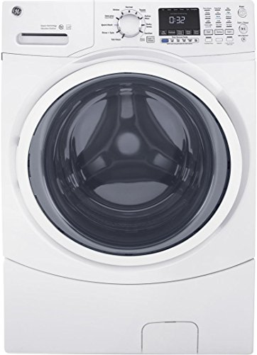 GE White 4.5 Cu. Ft. Front Load Steam Washer