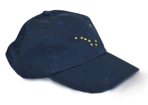 Alaska State Flag Low Profile Baseball Hat | Alaskan Golf Cap