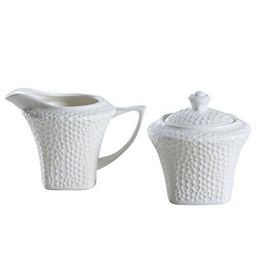 cream pitcher and sugar bowl - 8