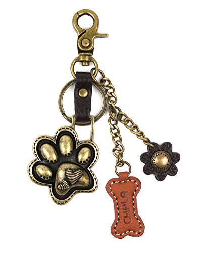 Chala Purse Charm, Key Fob, keychain Decorative Accessories -M602 (602 Paw)