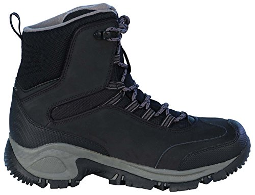 Columbia Men's Charcoal Black Boots Waterproof Backramp Techlite Black Snow Charcoal ZA7qZrvw