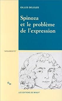 Spinoza et le problème de l'expression par Deleuze