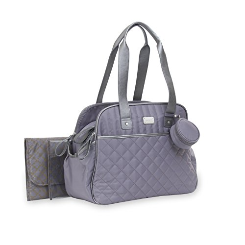 Carters-Total-Triple-Compartment-Tote-Diaper-Bag-with-Pacifier-Holder-Grey