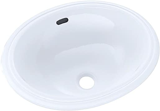Toto Lt577 01 15 Inch By 12 Inch Undercounter Lavatory Sink Cotton Bathroom Sinks Amazon Com