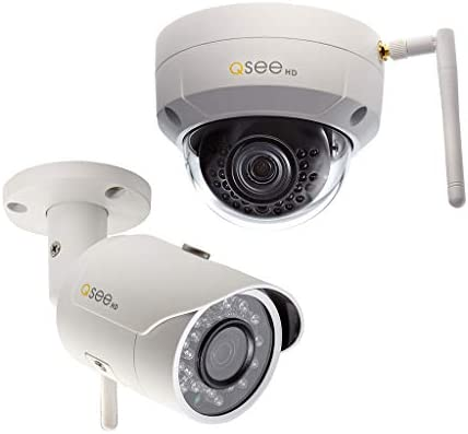 Q-See 3MP Wi-Fi Bullet and Dome Security Camera