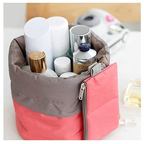 Makeup bag Waterproof Travel Kit, Organizer Bathroom Storage Cosmetic Bag With a Mini Bag, Jewelry Organizer,Men Shaving Kit Portable Luggage Bag for Vacation Camping