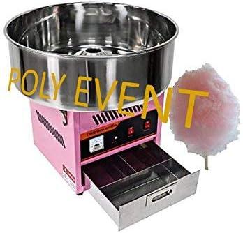 Poly Event máquina algodón de azúcar profesional sin burbuja 950 ...