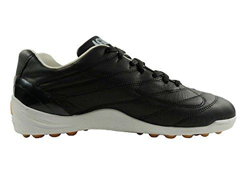 PROFESSIONAL AGLA FANTHOM AIR OUTDOOR zapatos de fútbol con tapa anti-shock negro