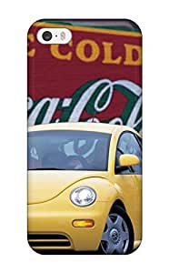 Best Flexible Tpu Back Case Cover For Iphone 5/5s - 1998 Volkswagen New Beetle Usa Version
