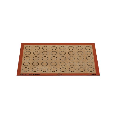 Demarle Macaroon Silpat 16.5'' x 24.5'' with 40 Circles 50mm by Demarle