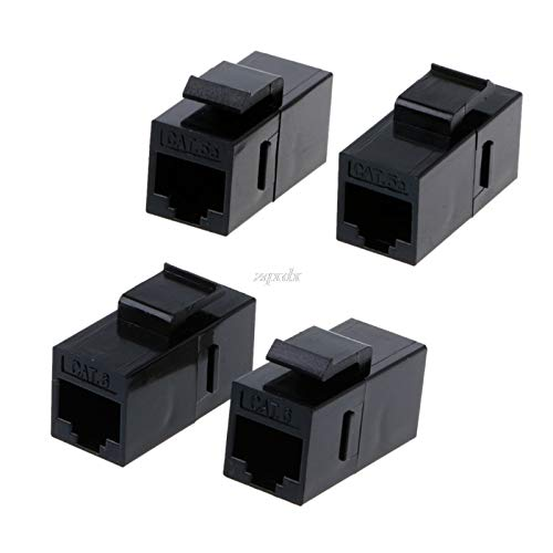 SAUJNN 2 Pcs CAT6 Unshielded Pass-Through Module UTP Network Module RJ45 Connector Adapter MAR28 Dropship