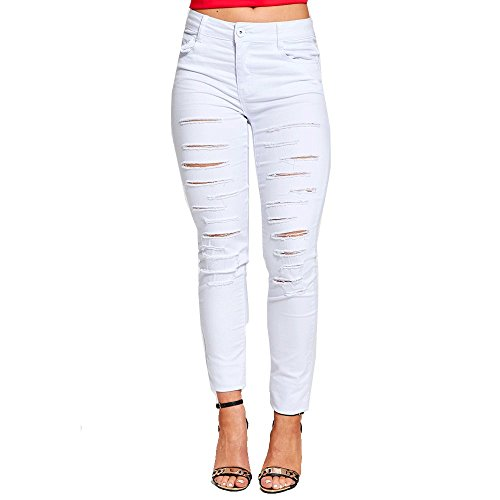 Genesis - Jeans - Femme 1126-White