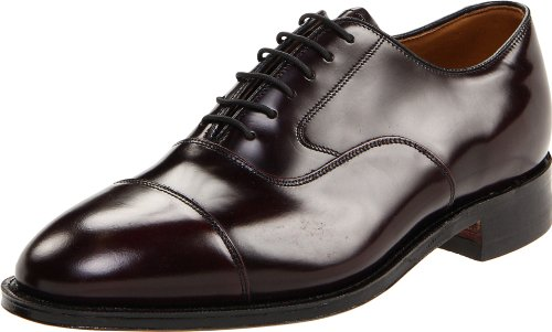Johnston & Murphy Men's Melton Oxford,Bordeaux,10 B by Johnston & Murphy