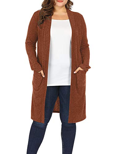 plus sleeve knitwear lightweight long