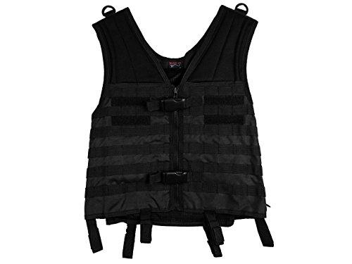 Maddog Sports Tactical Molle Vest - Black