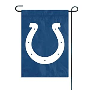 Indianapolis Colts Official NFL 15 inch Garden Flag + Stand by Party Animal