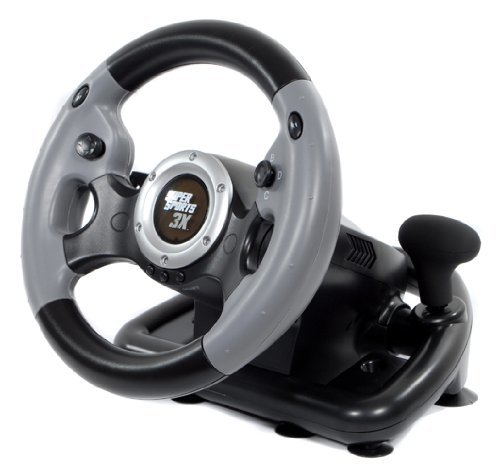 Datel Super Sports 3X Steering Wheel (PS3/Xbox 360/PC) Datel Xbox 360