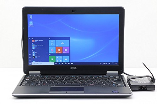 【中古】 DELL Latitude E7240 Core i5 4300U 1.9GHz/4GB/128GB(SSD)/12.5W/FWXGA(1366x768)/Win10 AC被膜破れあり   B0791TMHHX