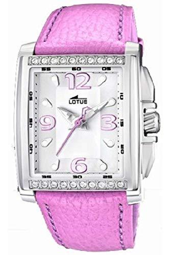Lotus m.piel Womens Analog Quartz Watch with Leather Bracelet 15996/2