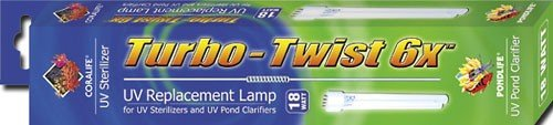 Coralife 18W Turbo Twist UV Sterilizer Lamp