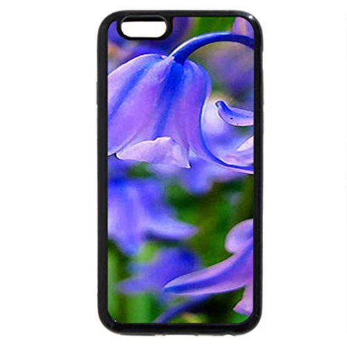 iPhone 6S / iPhone 6 Case (Black) Bluebell morning