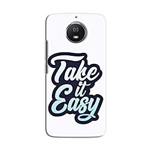 Cover It Up - Take It Easy Moto G5s Hard Case