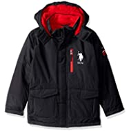 [Sponsored]U.S. Polo Assn. Boys' Parka Outerwear Jacket