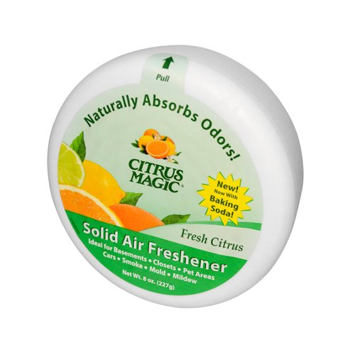 Bulk Saver Pack 36x8 OZ : Citrus Magic Solid Air Freshener - 8 oz by CITRUS MAGIC