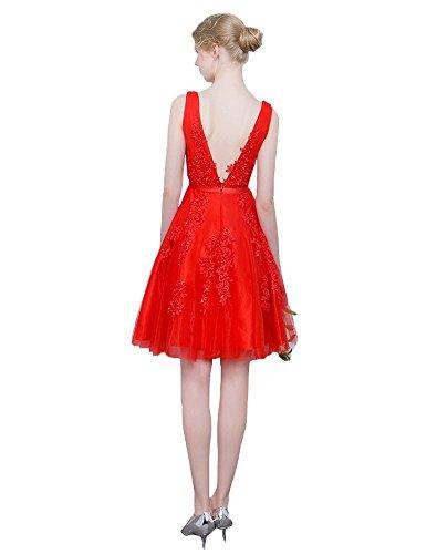 Abendkleider mit Erosebridal Formal Grau Kurz Ballkleider Appliques PFzHT