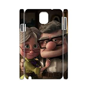 T-TGL(RQ) Personalized Hot Sale durable phone Case for Samsung galaxy Note 3 N9000 3D customized pixar carl ellie case