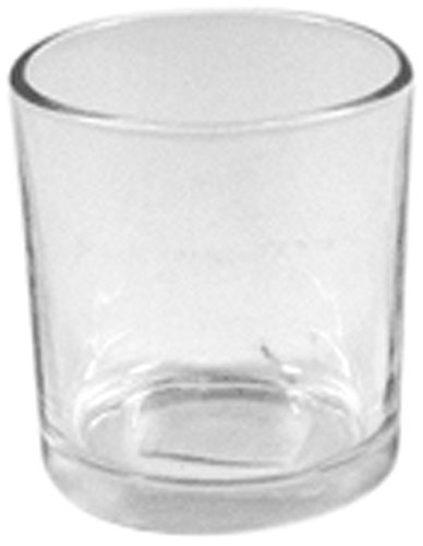 WGV Clear Glass Cylinder Vase/Votive Candle Holder, 3-Inch, Set of 12 ()