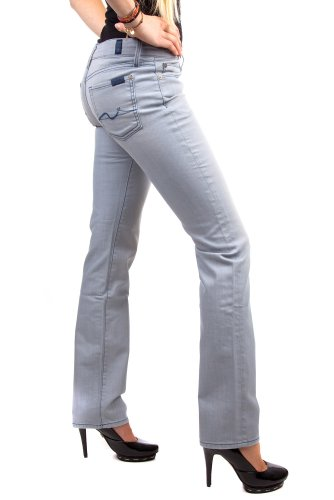 WAU Jeans for D43 Straight 190Y Femmes 7 Mankind leg all 0PWSaqO