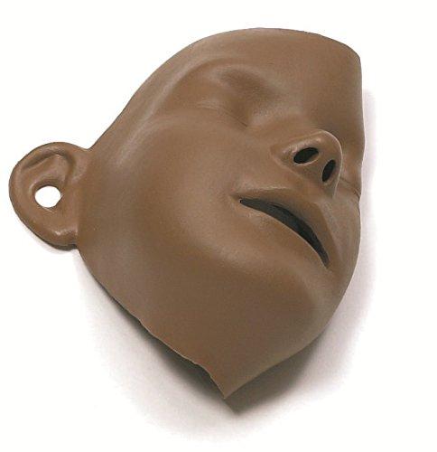 Laerdal 183015 Manikin Face Mask Model for Resusci Junior, Brown (Pack of - Manikin Junior Resusci