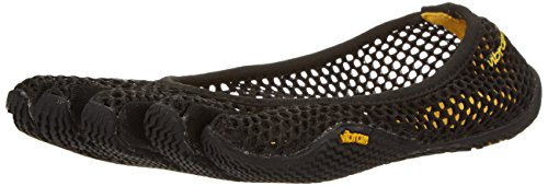 (Vibram Women's VI-B Fitness Yoga Shoe, Black,40 EU/8 M US)