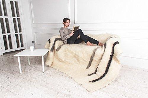 Amazon White Fluffy Wool Throw Blanket Soft Warm Wedding Gift Classy White Fluffy Throw Blanket