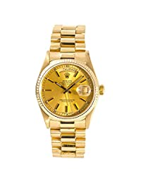 Rolex Day-Date Automatic-self-Wind Male Watch 18038 (Certified Pre-Owned)