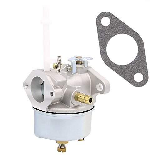 631954 Carburetor – Tecumseh 632371 632371A H70 & HSK70 7hp ARIENS TORO SNOWKING Snow Thrower Blowers Tillers Go-Karts – Tecumseh 632371 Carburetor (631954)