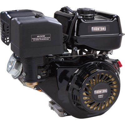 Ironton OHV Horizontal Engine - 420cc, 1in. (25.4mm) x 2 27/32in. (72.2mm) Shaft by Ironton