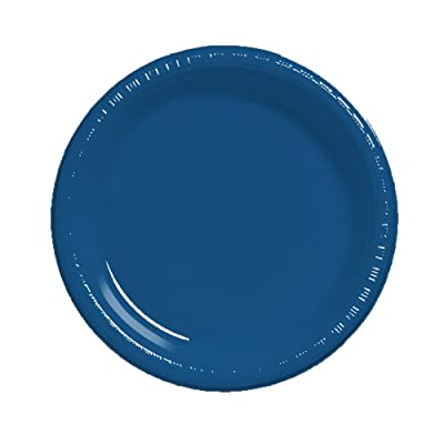"Creative Converting Touch of Color 20 Count 10.25"" Plastic Banquet Plate by Creative Converting"