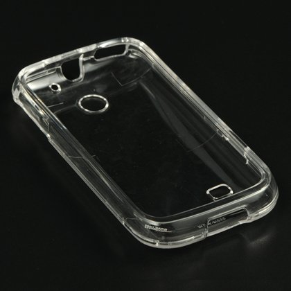 - Dream Wireless CAHUM865CL Slim and Stylish Design Case for Huawei Ascend 2 - Retail Packaging - Clear