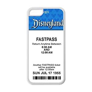 Customize Vintage Disneyland Ticket TPU Case For iPhone 6 4.7