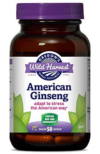 American Ginseng - 50 Vcaps,(Oregons Wild Harvest)