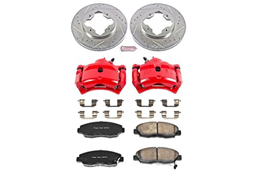 Power Stop KC697 1-Click Performance Front Brake Kit with ()