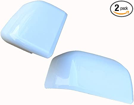 Ford Super Duty Painted to Match Mirror Caps Brand New OEM 17 OXFORD WHITE Z1