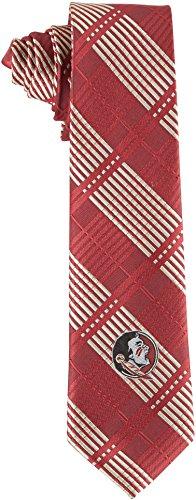 (FSU Florida State University Tie Skinny Woven Polyester Necktie )