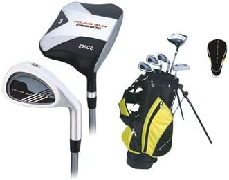 Young Gun Junior Golf Clubs Set+ Bag Left Handed Yellow Ages 3-5 :  Amazon.co.uk: Sports & Outdoors